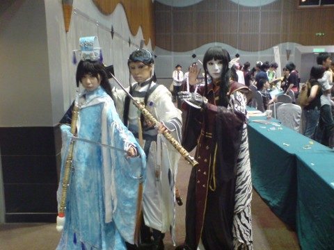 More Chinese Origin Cosplayers