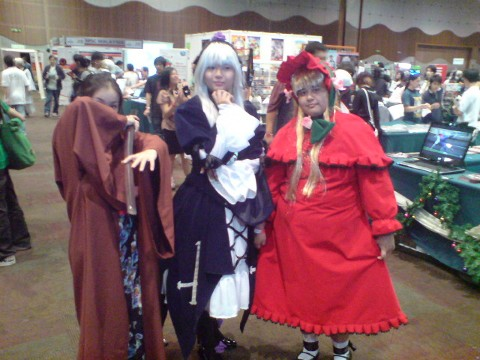 Jedi, Baron and Red Riding Hood?