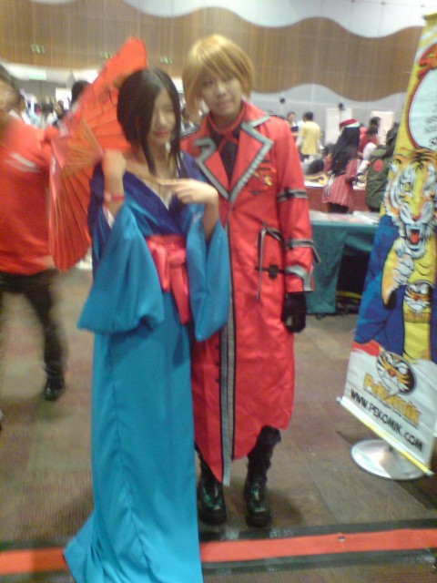 Dante from Devil May Cry with Lady