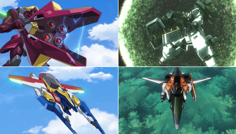 Code Geass R2 & Gundam 00 comparison