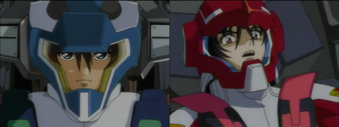 Gundam Seed Destiny - Kira vs Shinn