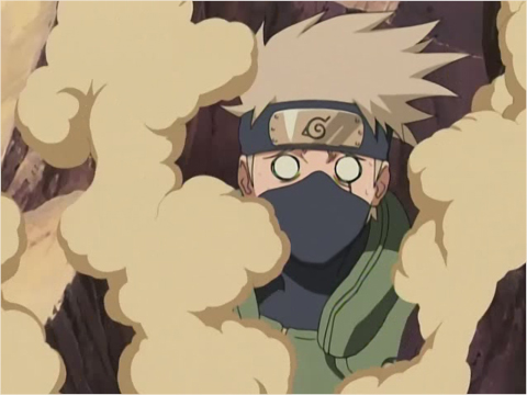 Hatake Kakashi shocked!