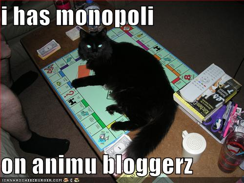 Owen has animu blogger monopoly