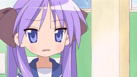 Lucky Star Kagami Angry